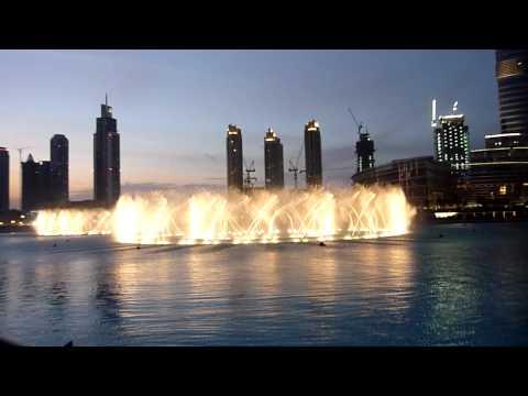 Dubai Fountain Ishtar Poetry - Furat Qaddouri