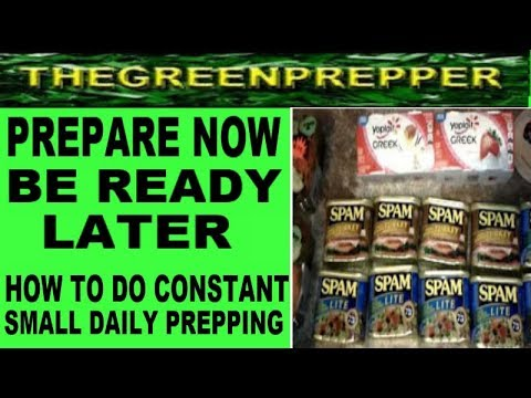 prepare now be ready later - Doomsday Preppers