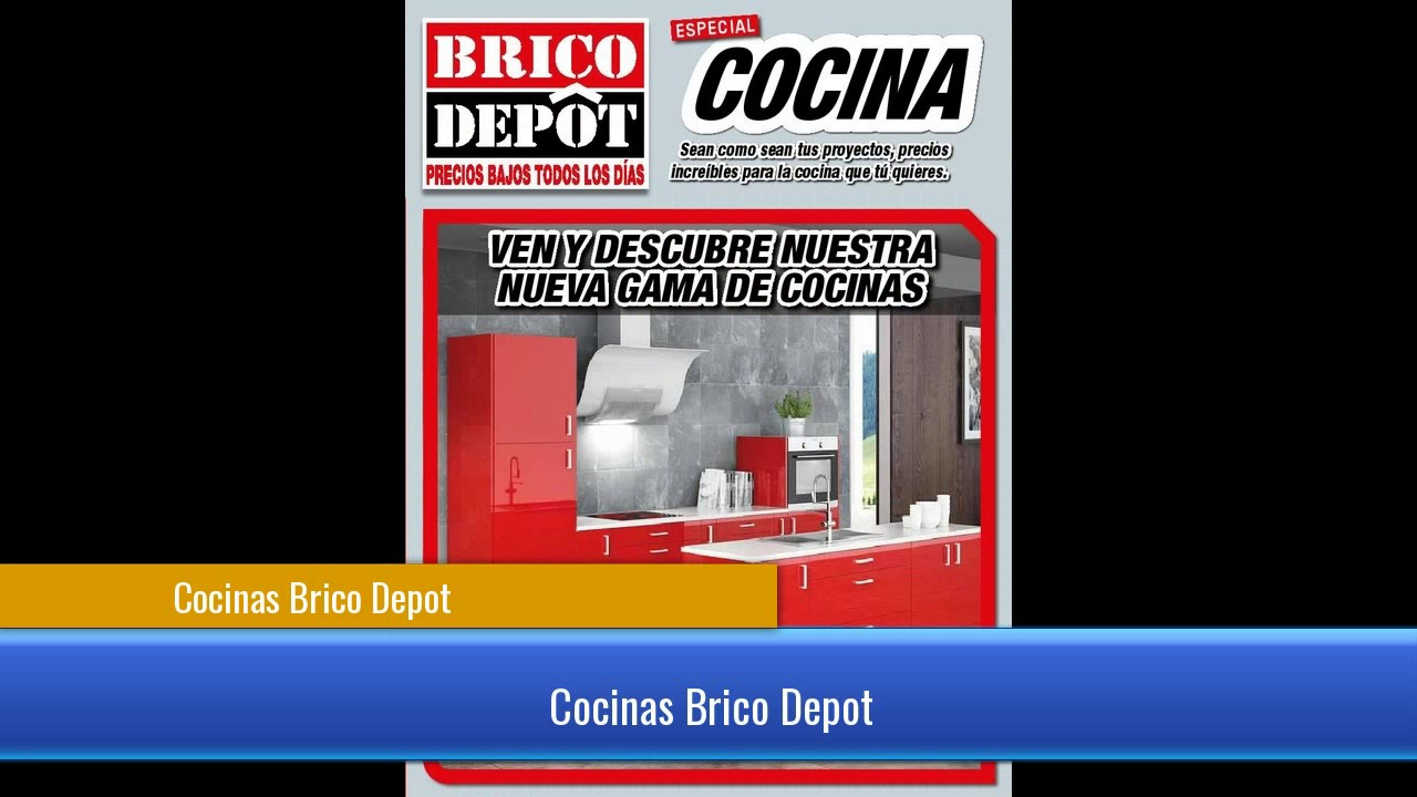 Mira las cocinas que trae brico depot youtube for Brico depot cocinas 2014