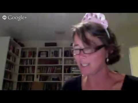 Google Giggle pj party with author Megan Mulry!
