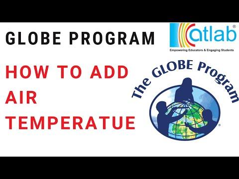 How to add AIR Temperature Data | GLOBE Program UAE