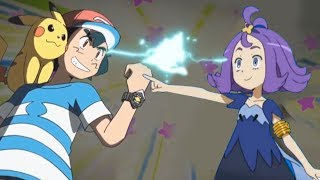 Pokemon Battle USUM: Alola Ash Vs Acerola (Pokémon Team Prediction)
