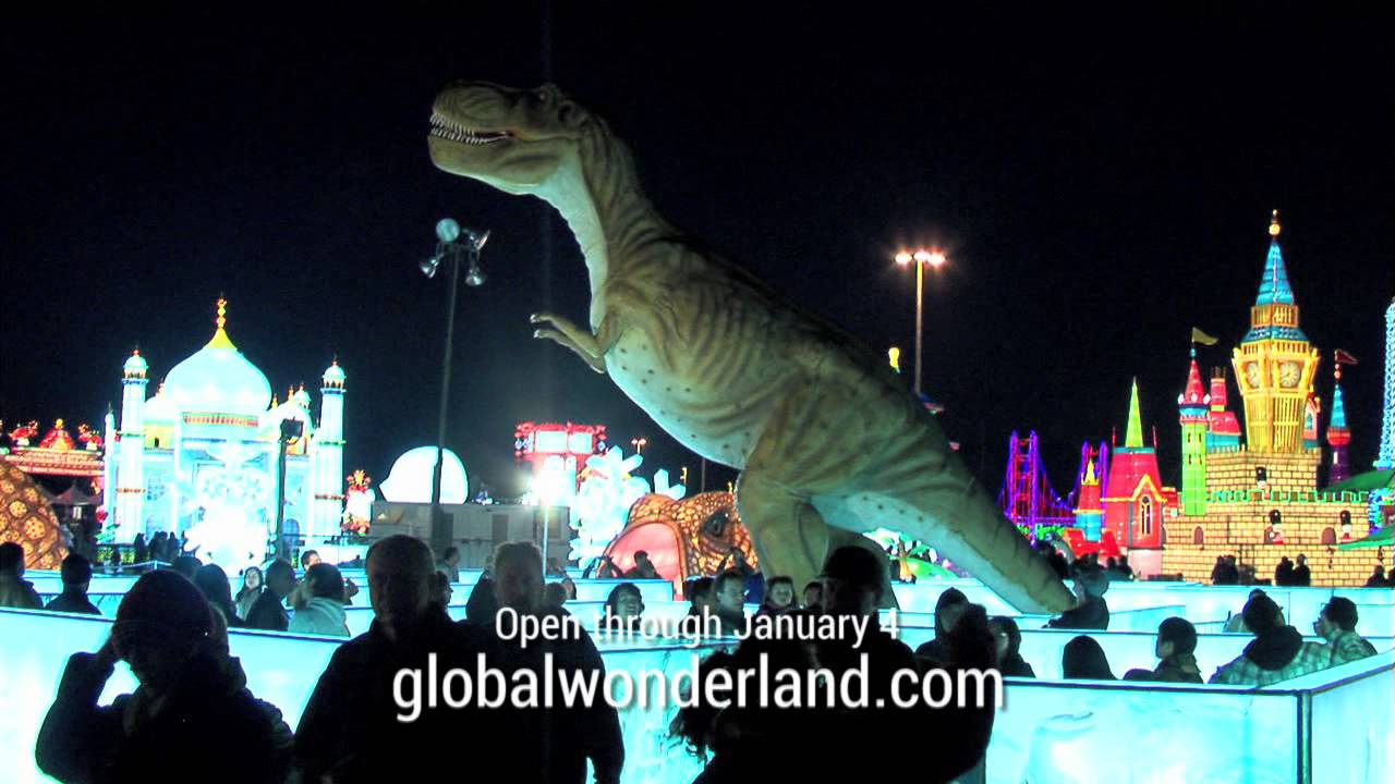Global Winter Wonderland - Now Open at Cal Expo - YouTube