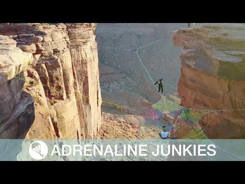 Carmine - Couple Gets Married On Giant Spider Web Hanging Over A Canyon!