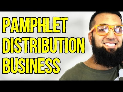 #3 Pamphlet Distribution Business Idea | 100 Easy Business Ideas in URDU