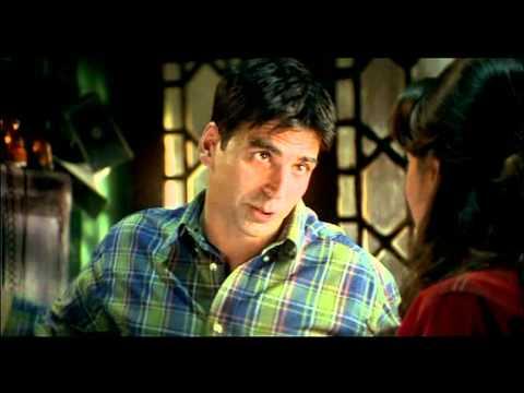 Khakee - Drama Scene - Akshay Kumar - Aishwarya Rai - Shekhar Flirts With Mahalakshmi