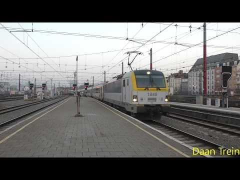HLE 18 48 met I11 komt aan in Brussel Zuid