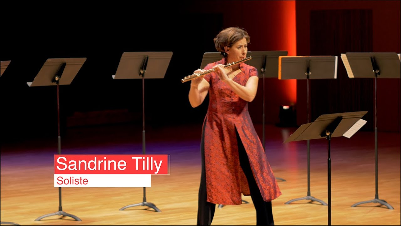 Sandrine Tilly, flûte solo. Berio - Sequenza, Conservatoire d'Aix en Provence.18 novembre 2019