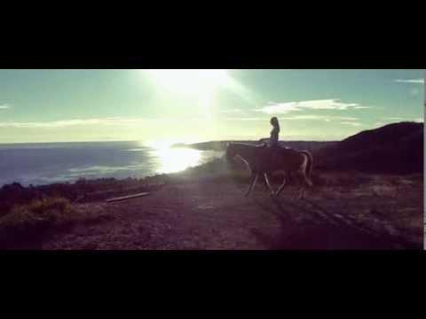 Monique Ganderton Malibu Horse Ride  DJI Phantom Test Footage