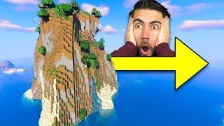 Forcing 200 People To Move An ENTIRE Mountain (Minecraft)