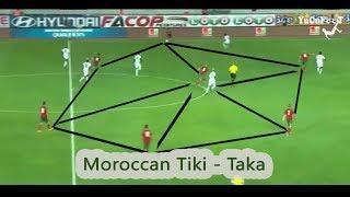 Moroccan Tiki -Taka || تيــكـي تــاكـا المنتخب المغربي