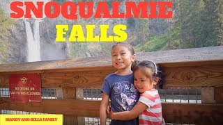 Snoqualmie Falls seattle washington Family Hiking Travel adventure time