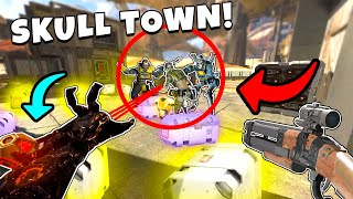 *NEW* REVENANT IN SKULL TOWN IS OP - NEW Apex Legends Funny & Epic Moments #246