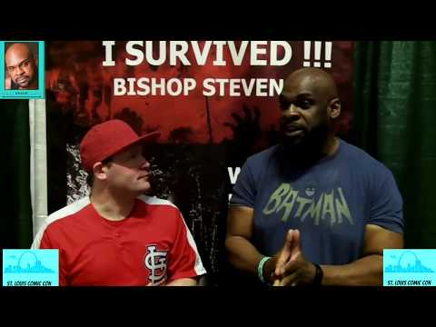 St Louis Comic Con  With Actor Bishop Stevens 2017  Day 2