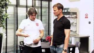 Umbro Goes Behind The Scenes At Soccer Aid 2012