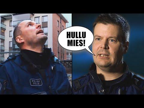 Kun poliisit katsoivat