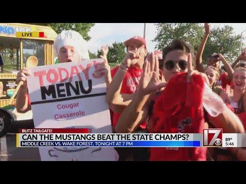 Blitz Tailgate: Middle Creek High School   Week 3