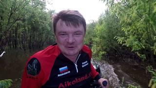 ЩУКА АТАКУЕТ ЯЙЦО! Рыбалка с ночевкой в тайге. Таежная избушка / Рыбалка с Aikoland TV 2018