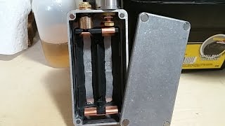 Fully mechanical series box mod voltage drop test