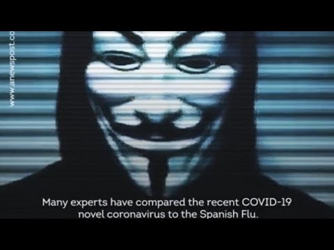 ANONYMOUS on CORONA VIRUS (COVOID-19) Part-2 - YouTube