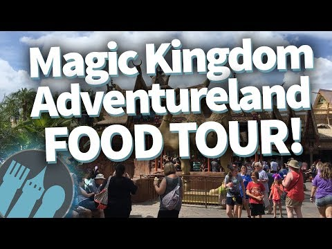 Disney World Food Tour: Magic Kingdom's Adventureland!