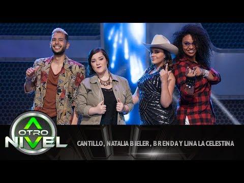 'Por un beso de tu boca' - Brenda, Natalia B., La Celestina y Cantillo - Fusiones   A otro Nivel
