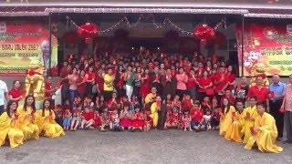 [祝賀師尊師母丙申年2016新春快樂影片] 印尼 - 三尊雷藏寺眾同門祝師尊新春快樂