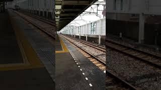 東京メトロ半蔵門線 新型車両18000系 蒲生駅通過