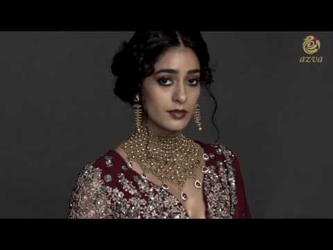 Contemporary Bridal Style with Azva Gold Jewellery
