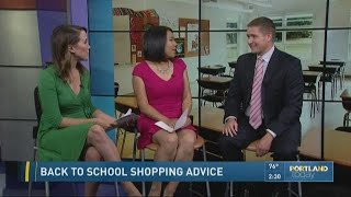 Back to school shopping advice