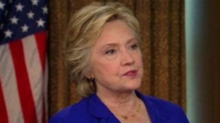Clinton defends 'video' statements made after Benghazi