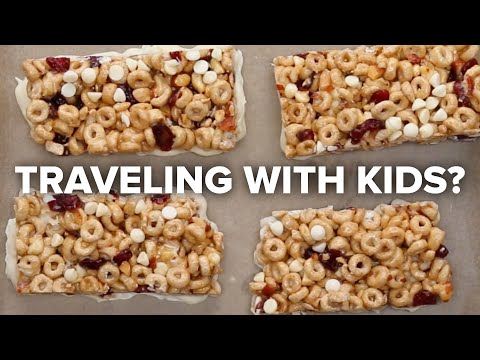 Easy snack recipes for road trips