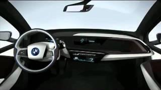 Новый BMW i3.