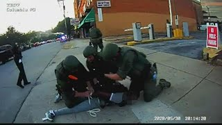 Columbia officer didn't violate policy when he put knee on man's neck, chief says