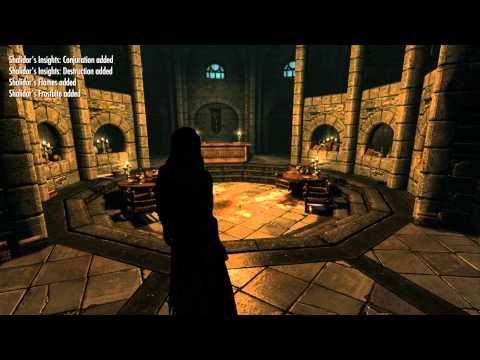 Skyrim Mod Video Tutorial: Aetherius Magic: Ancient Sanctuary