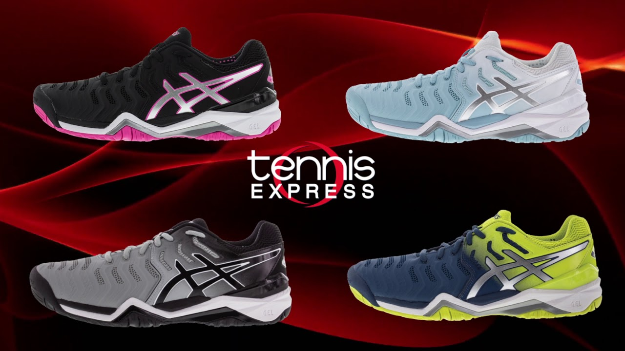 New ASICS Spring 2018 Tennis Shoe Commercial at Tennis Express December 2017  (:15)