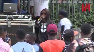 KHALIGRAPH JONES VS JUALA SUPERBOY-PART 3 freestyle rap battle