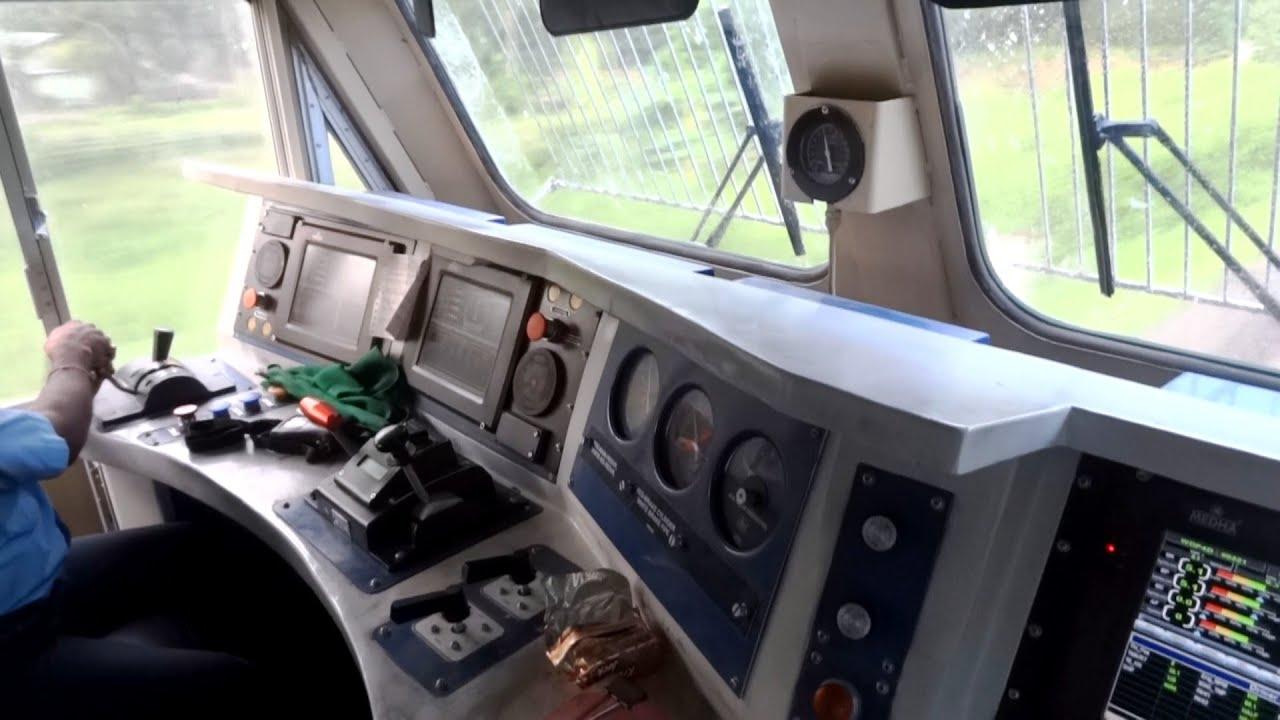 Irfca Inside Rajdhani Express Locomotive Ultimate Cab