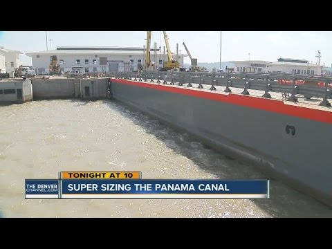 Panama Canal expansion plans