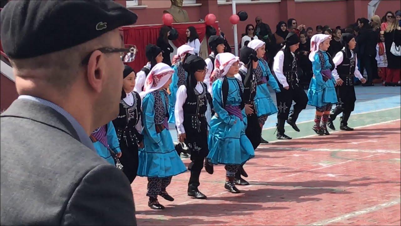 23 Nisan Gösterisi Fevzi Özbey İlkokulu –  April 23, Performance Fevzi Özbey Primary School