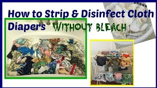 Gambar cover How to Strip and Disinfect Cloth Diapers Without Bleach According Fluff Love University