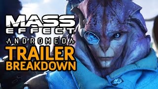 Revealed Squadmates and Breakdown of Mass Effect: Andromeda: Cinematic Trailer #2