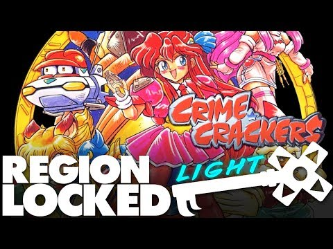Japan's Exclusive PS1 Dungeon Crawlers: Crime Crackers - Region Locked Light Feat. Dazz