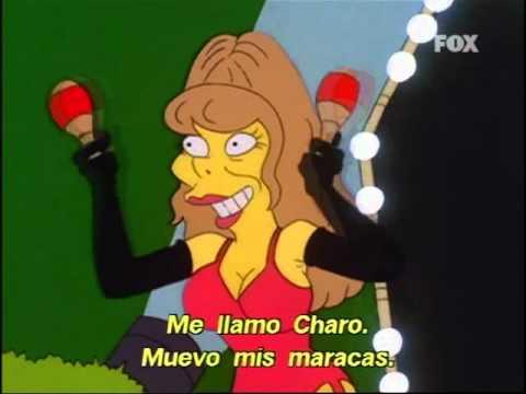 La murciana que fue la Ana Obregón de Hollywood y llegó a salir en Los Simpson