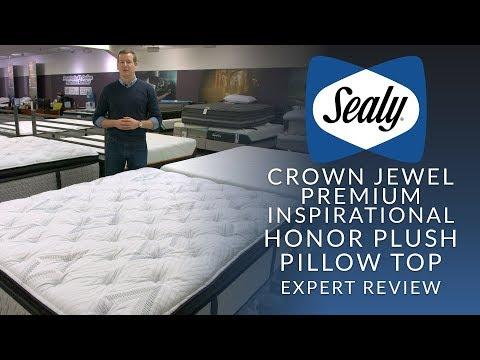 Sealy Crown Jewel Premium Inspirational Honor Plush Euro Pillow Top Mattress Expert Review