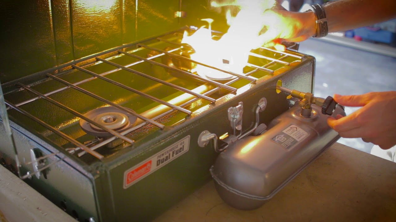 Coleman Stove Review: Powerhouse Duel Fuel 414 White Gas Stove