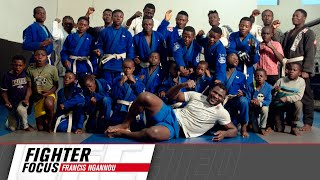Francis Ngannou Visits His Home Village in Cameroon