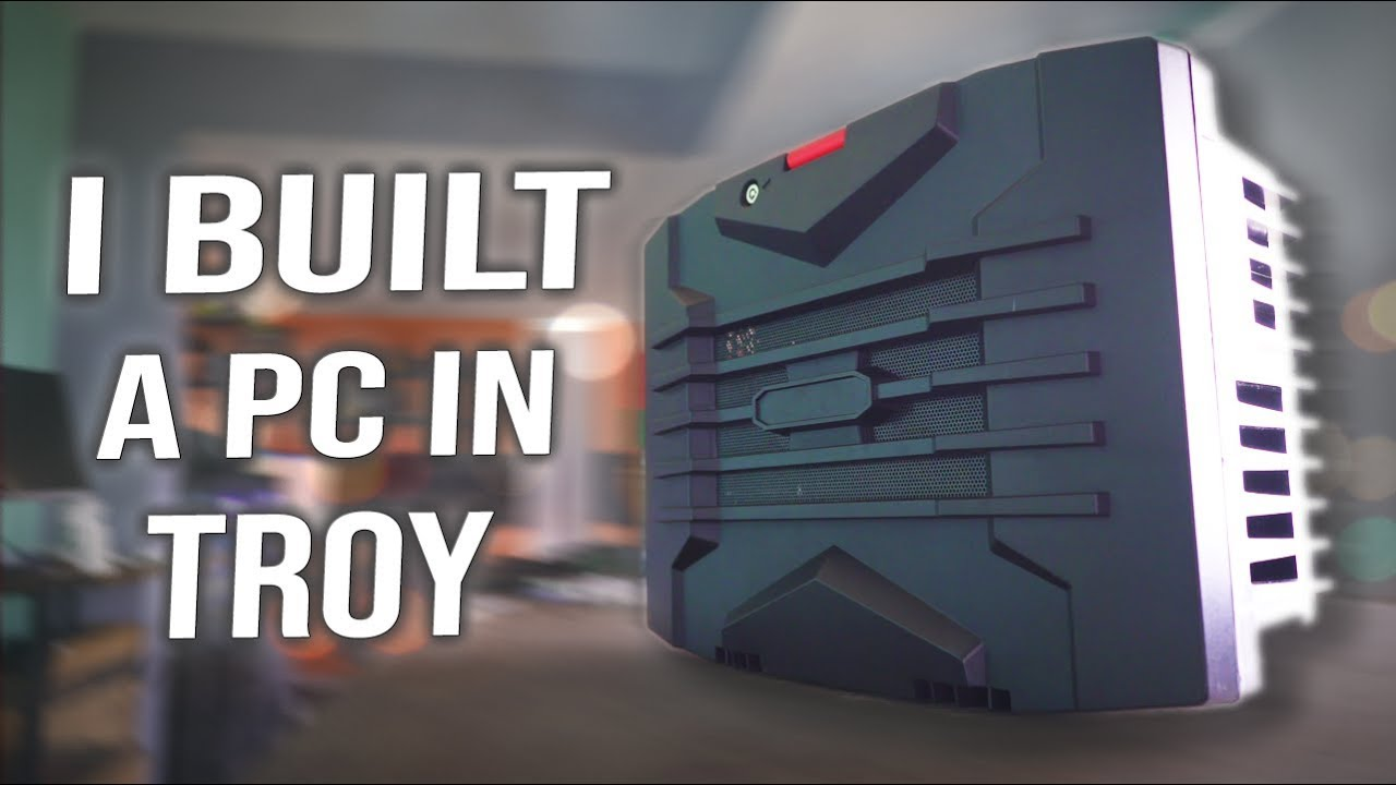 How To BUILD a Suit Case PC on a BUDGET! The Used RaidMax GTX 1060 'Troy'  Build