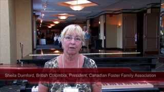 Sheila Durnford, British Columbia, President, Canadian Foster Family Association