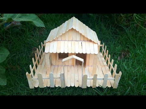 Popsicle house building - Popsicle garden villa - Dream house architecture.